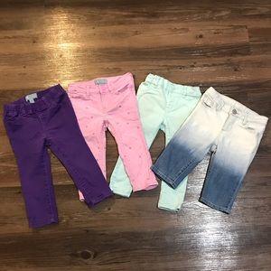 LOT 2T GAP Jeans